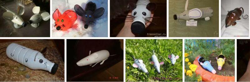Крыса (мышь) своими руками на Новый год — поделки в виде символа года 2020 из разных материалов этап 157
