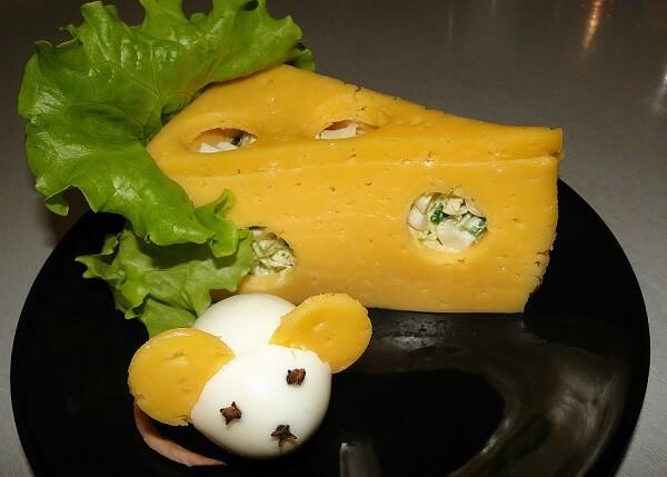 Салат в виде крысы (мышки) на Новый год 2020. Топ 8 рецептов новогодних салатов этап 41