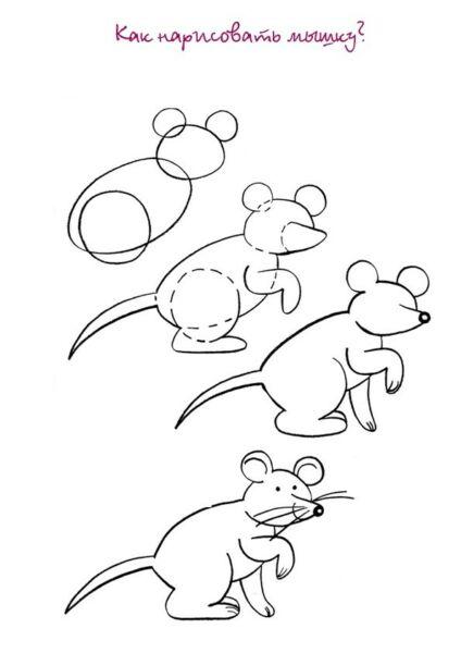 Крыса (мышь) своими руками на Новый год — поделки в виде символа года 2020 из разных материалов этап 110