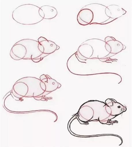 Крыса (мышь) своими руками на Новый год — поделки в виде символа года 2020 из разных материалов этап 106