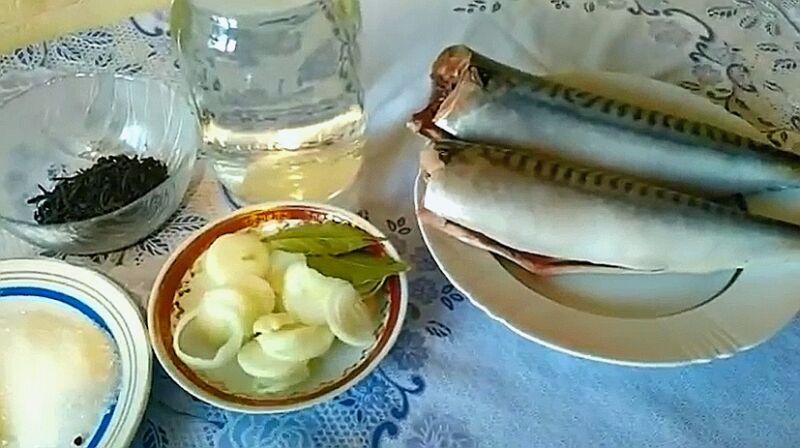 Маринованная скумбрия в домашних условиях: 7 очень вкусных рецептов этап 34