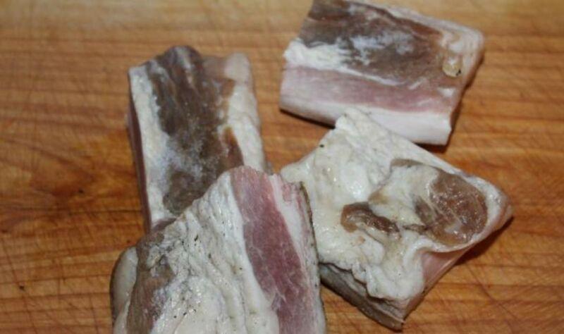 Как сварить сало в луковой шелухе? 7 самых вкусных рецептов этап 7