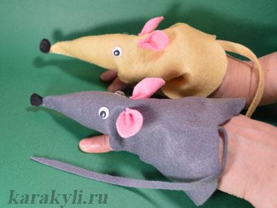 Крыса (мышь) своими руками на Новый год — поделки в виде символа года 2020 из разных материалов этап 17