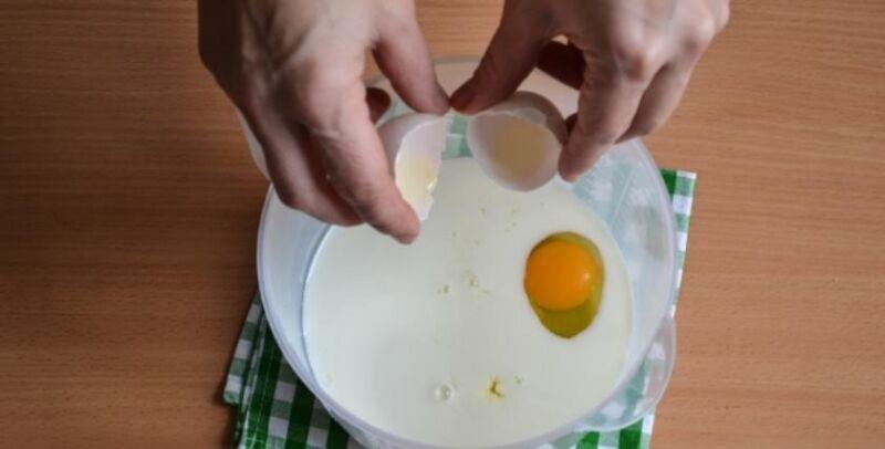 Блины с творогом — 8 рецептов блинчиков с начинкой из творога этап 31