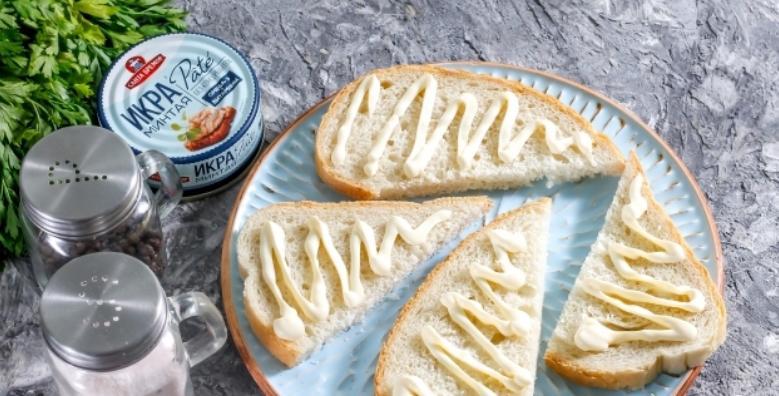 Бутерброды с икрой на праздничный стол — 7 простых рецептов этап 28