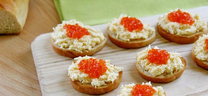 Бутерброды с икрой на праздничный стол — 7 простых рецептов этап 9