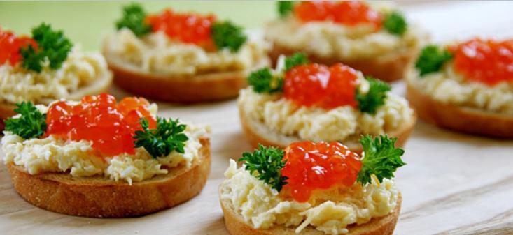 Бутерброды с икрой на праздничный стол — 7 простых рецептов этап 10