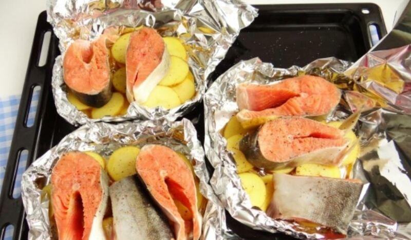 Запеченная горбуша в духовке: 6 рецептов приготовления сочной горбуши этап 25