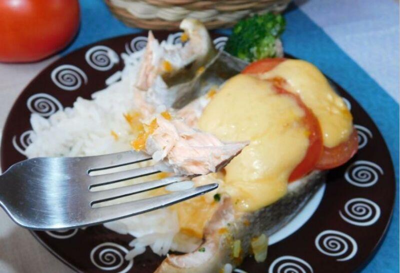 Запеченная горбуша в духовке: 6 рецептов приготовления сочной горбуши этап 17