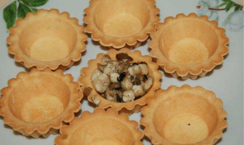 Закуски в тарталетках — 10 простых и вкусных рецептов на праздничный стол этап 49