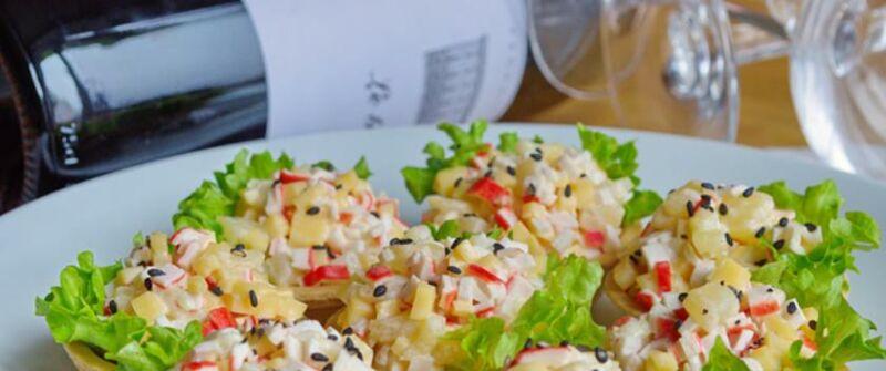 Закуски в тарталетках — 10 простых и вкусных рецептов на праздничный стол этап 14