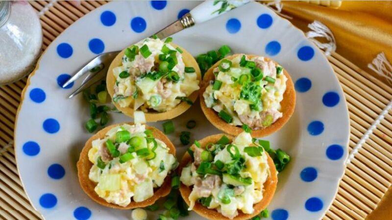 Закуски в тарталетках — 10 простых и вкусных рецептов на праздничный стол этап 62