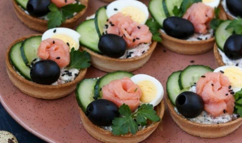 Закуски в тарталетках — 10 простых и вкусных рецептов на праздничный стол этап 22