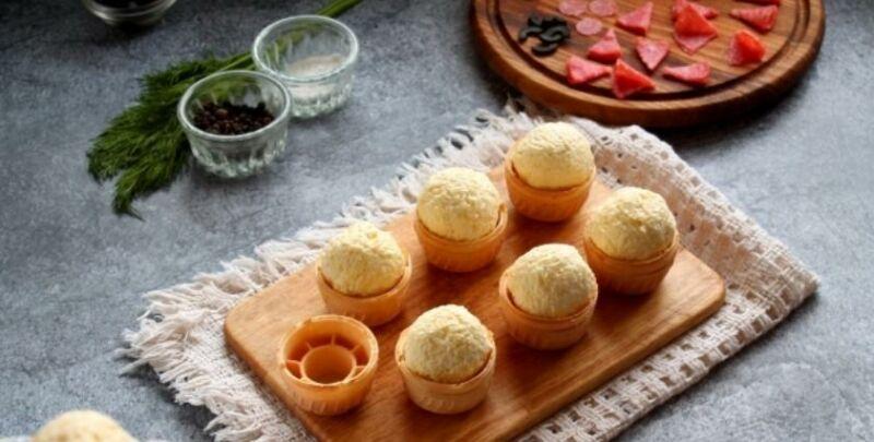 Закуски в тарталетках — 10 простых и вкусных рецептов на праздничный стол этап 6