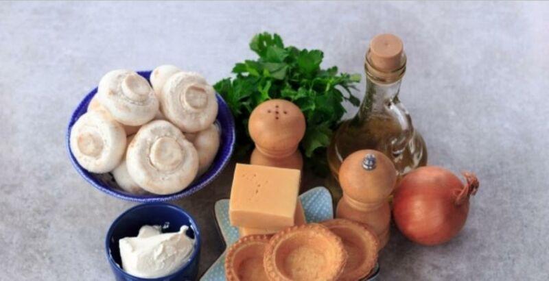 Закуски в тарталетках — 10 простых и вкусных рецептов на праздничный стол этап 36