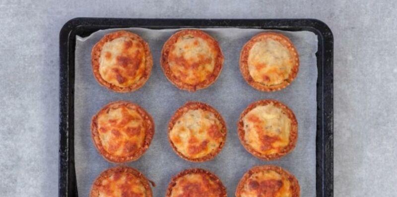 Закуски в тарталетках — 10 простых и вкусных рецептов на праздничный стол этап 44