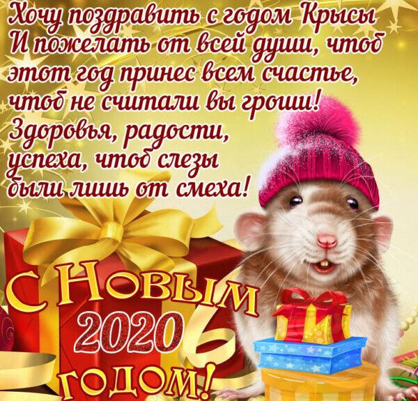 С Новым 2020 годом! С Годом Белой Металлической Крысы! этап 1