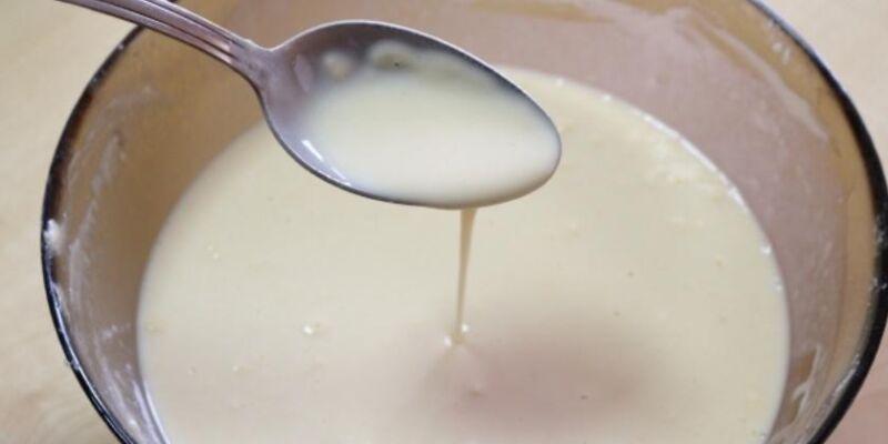 Блины на молоке и кефире. Рецепты тонких блинов с дырочками этап 18