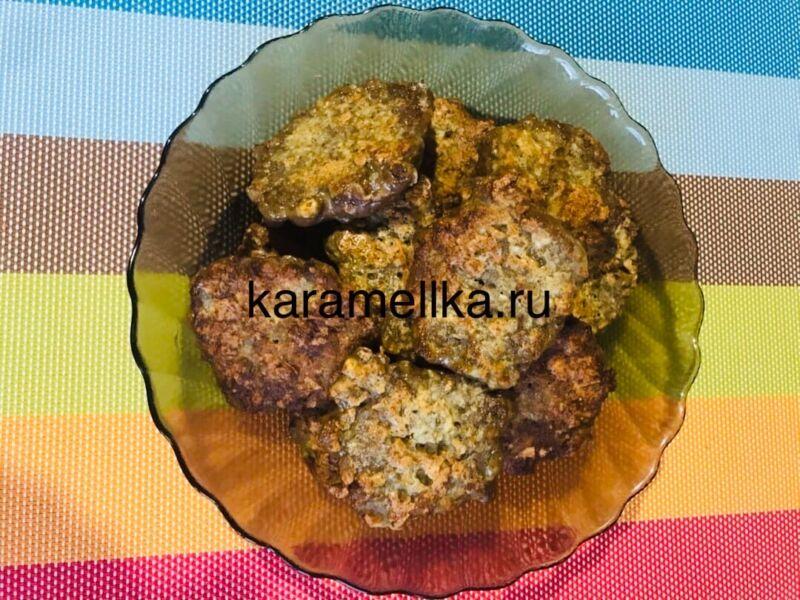 Печеночные оладьи из говяжьей печени — супер рецепт пышных оладьев этап 10