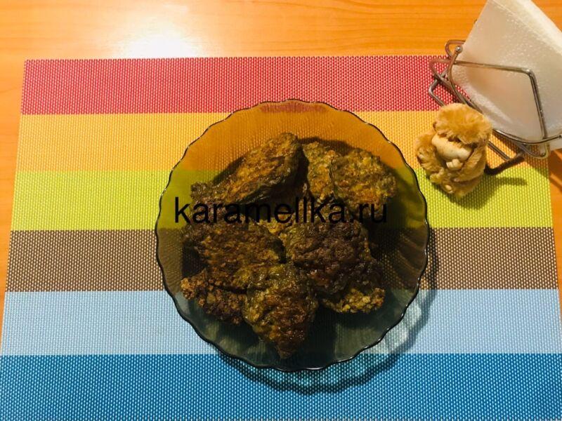 Печеночные оладьи из говяжьей печени — супер рецепт пышных оладьев