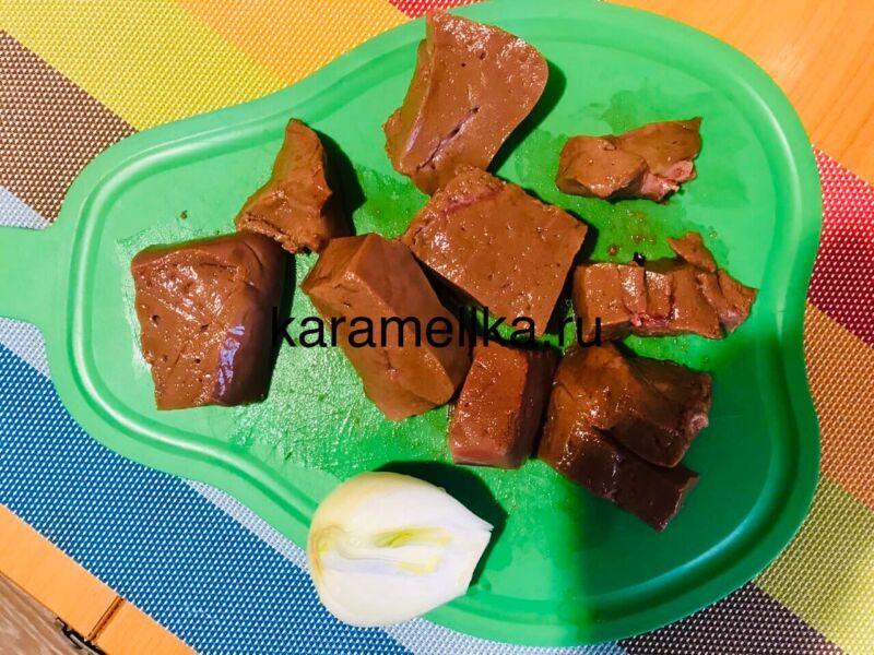 Печеночные оладьи из говяжьей печени — супер рецепт пышных оладьев этап 3