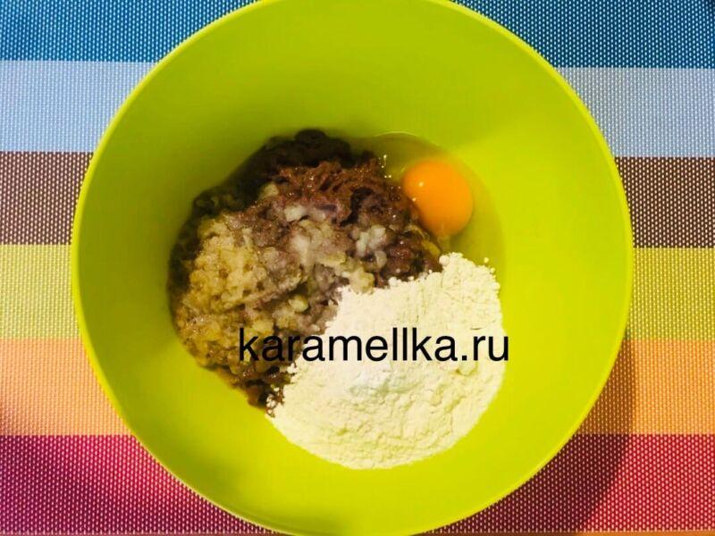 Печеночные оладьи из говяжьей печени — супер рецепт пышных оладьев этап 5