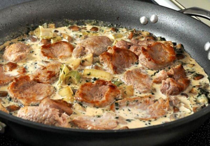 Свинина на сковороде: 9 простых и вкусных рецептов этап 24