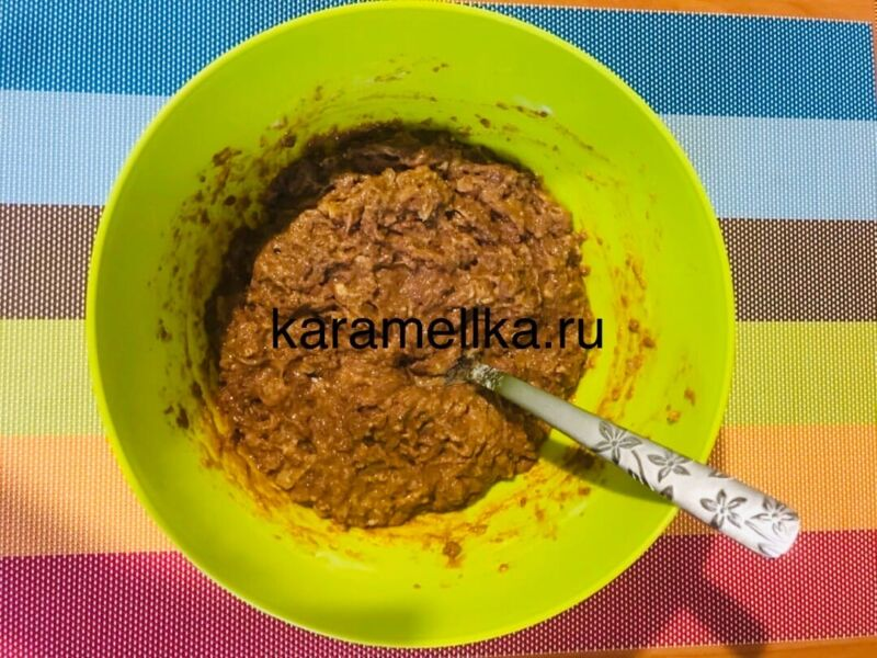 Печеночные оладьи из говяжьей печени — супер рецепт пышных оладьев этап 6