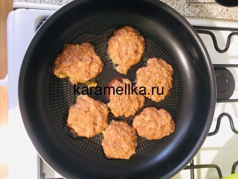 Печеночные оладьи из говяжьей печени — супер рецепт пышных оладьев этап 8