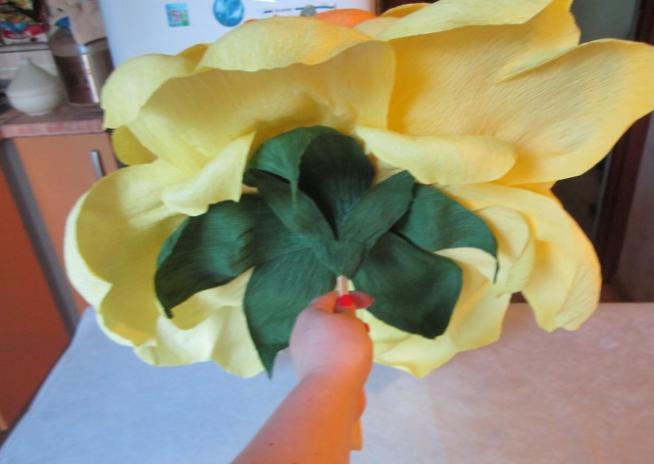 Цветы из бумаги — схемы и шаблоны для создания бумажных цветов этап 52