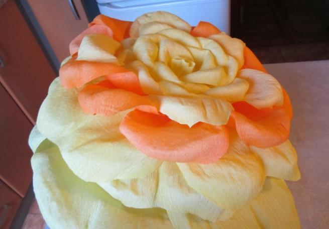Цветы из бумаги — схемы и шаблоны для создания бумажных цветов этап 53