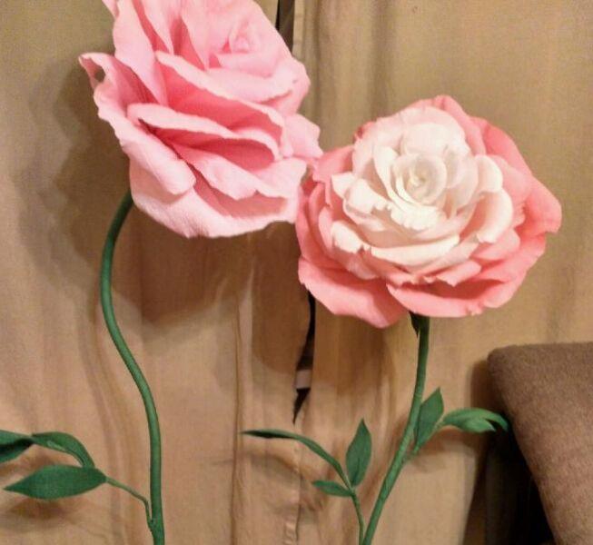 Цветы из бумаги — схемы и шаблоны для создания бумажных цветов этап 60