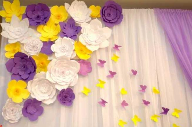 Цветы из бумаги — схемы и шаблоны для создания бумажных цветов этап 34