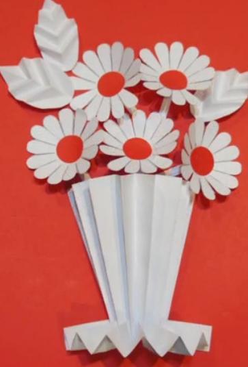 Цветы из бумаги — схемы и шаблоны для создания бумажных цветов этап 153