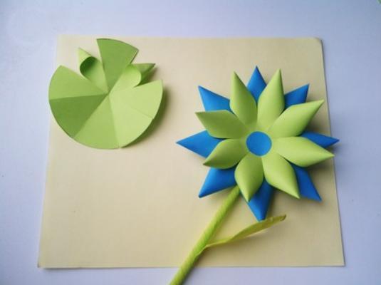Цветы из бумаги — схемы и шаблоны для создания бумажных цветов этап 154