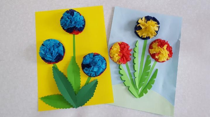 Цветы из бумаги — схемы и шаблоны для создания бумажных цветов этап 150