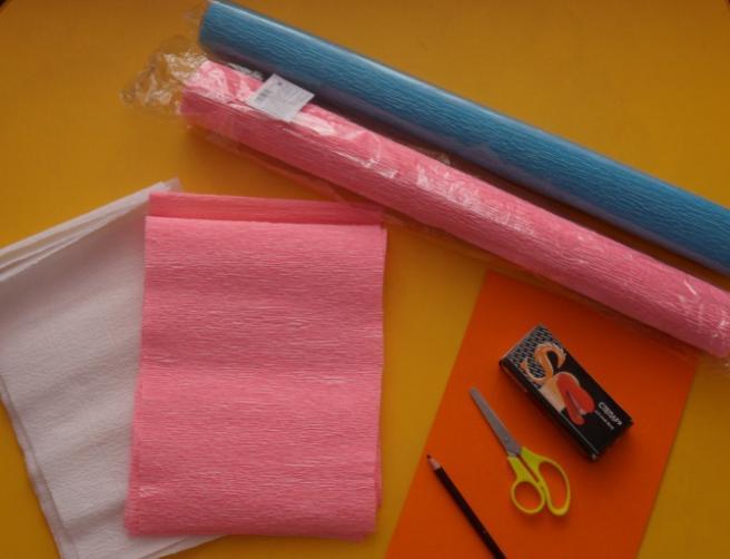 Цветы из бумаги — схемы и шаблоны для создания бумажных цветов этап 65