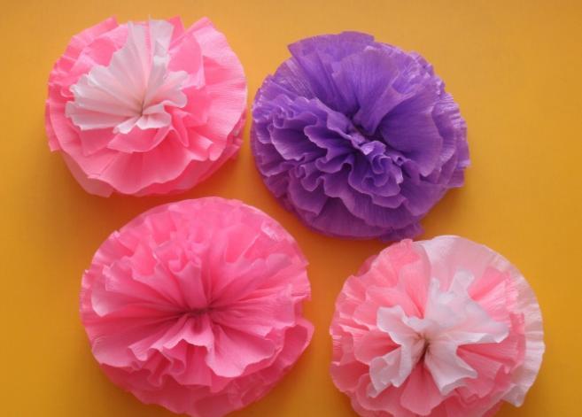 Цветы из бумаги — схемы и шаблоны для создания бумажных цветов этап 68