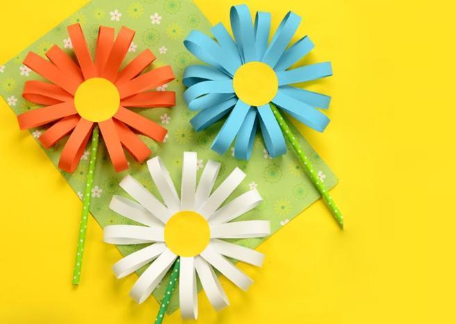 Цветы из бумаги — схемы и шаблоны для создания бумажных цветов этап 70