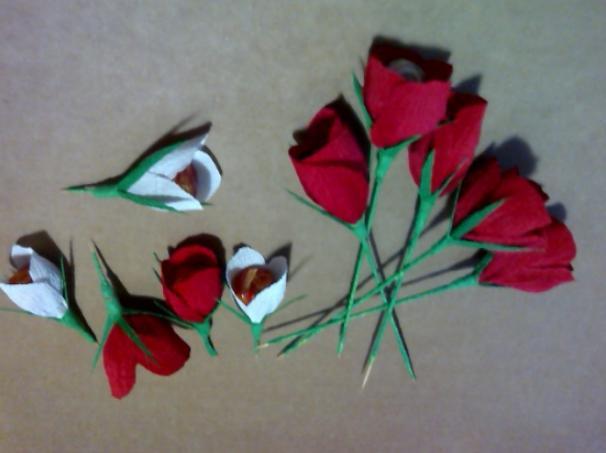 Цветы из бумаги — схемы и шаблоны для создания бумажных цветов этап 165