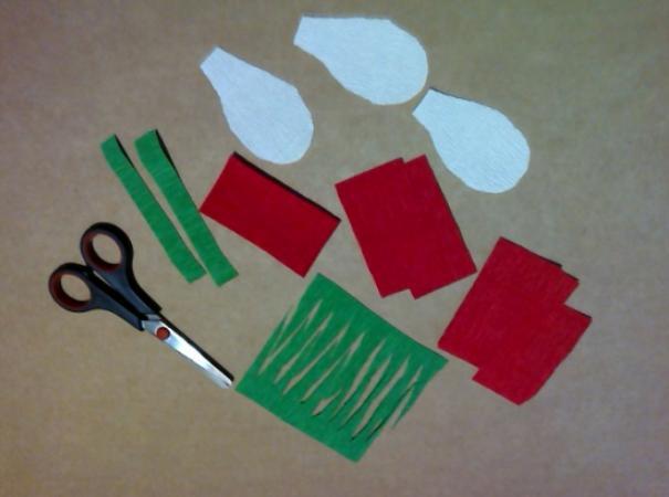 Цветы из бумаги — схемы и шаблоны для создания бумажных цветов этап 158