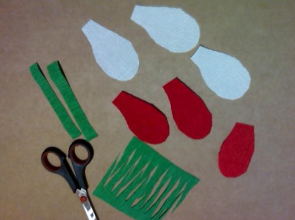Цветы из бумаги — схемы и шаблоны для создания бумажных цветов этап 159