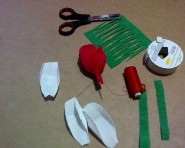 Цветы из бумаги — схемы и шаблоны для создания бумажных цветов этап 162