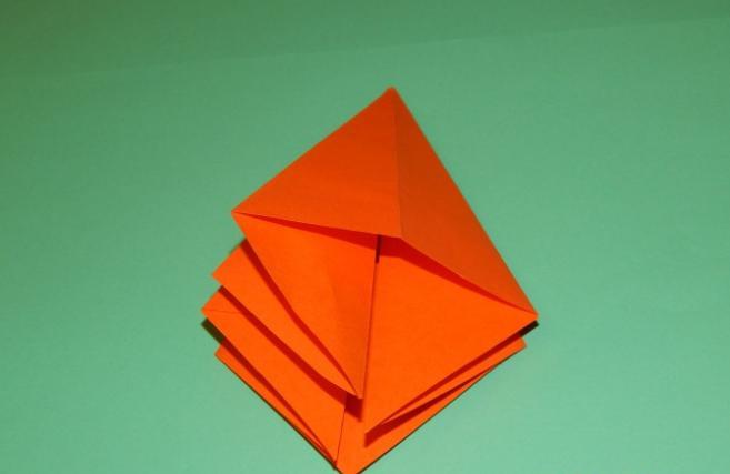 Цветы из бумаги — схемы и шаблоны для создания бумажных цветов этап 91