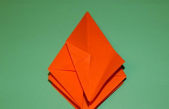 Цветы из бумаги — схемы и шаблоны для создания бумажных цветов этап 94
