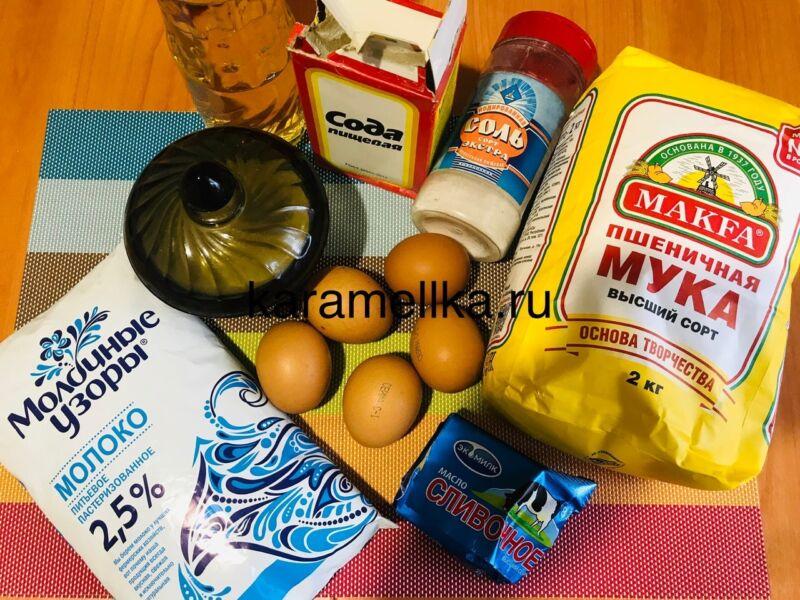 Как приготовить тонкие блины на молоке? (простой рецепт) этап 2