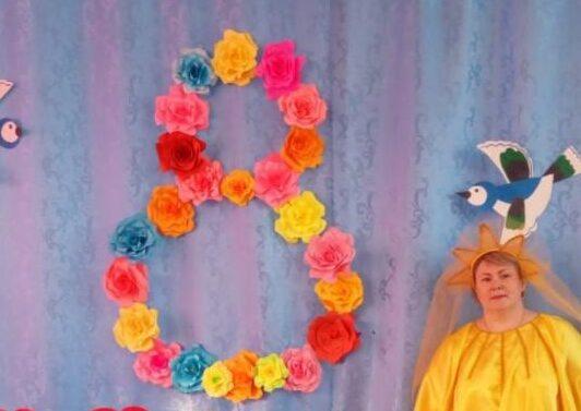 Цветы из бумаги — схемы и шаблоны для создания бумажных цветов этап 29