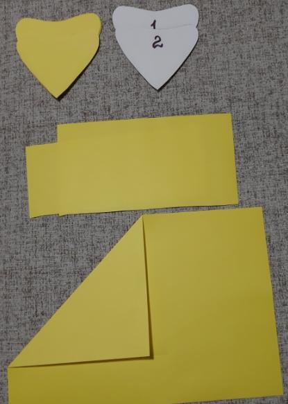 Цветы из бумаги — схемы и шаблоны для создания бумажных цветов этап 20