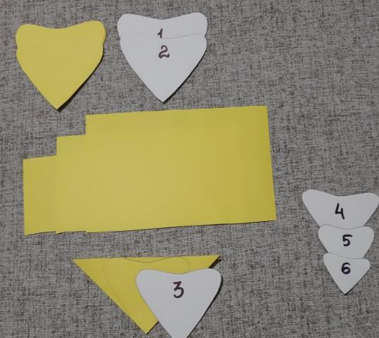 Цветы из бумаги — схемы и шаблоны для создания бумажных цветов этап 21
