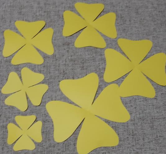 Цветы из бумаги — схемы и шаблоны для создания бумажных цветов этап 23